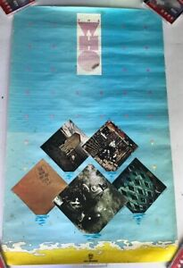 THE WHO 1970s Catalog MCA Promo 22x35 Poster Vintage Authentic NOT A REPRO