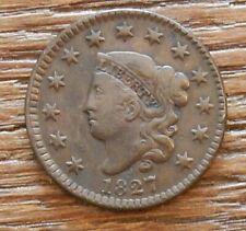 1827 Large Cent Original Nice Coin