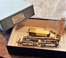 Custom BRASS HO 0-8-8-2 PRR Locomotive Tender Class CC-2 Pennsylvania Railroad