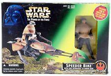 Star Wars Power of the Force Speeder Bike with Luke Skywalker