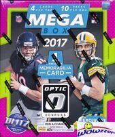 2017 Donruss Optic Football HUGE 10 Pack MEGA BOX-MEM+10 Parallels-MAHOMES RC YR