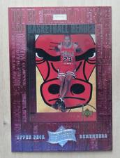 1999 Athlete of the Century Upper Deck Remembers Michael Jordan #UD5 Bulls GOAT