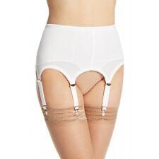 Rago Foundations Shapewear Open 6 Strap White Garter Belt Regular Size 34/2XL