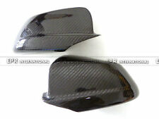 EPR 2Pcs Rear Side Mirror Stick Protect Cover For BMW F10 5-Series Carbon Fiber