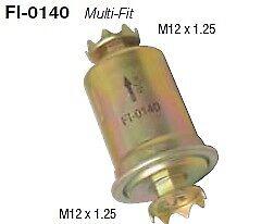 Fuelmiser Fuel Filter EFI External FI-0140 fits Toyota Land Cruiser 80 Series...