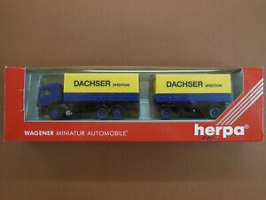 ## Herpa MAN LKW Dachser Spedition Nr.140560 , 1:87 in OVP