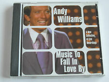 Andy Williams - Music To Fall In Love By (CD Album) Used Very Good