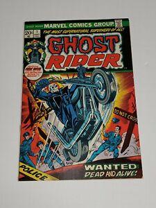 1973 Ghost Rider # 1. First Daimon Hellstrom.Son of Satan.Bronze age Marvel key