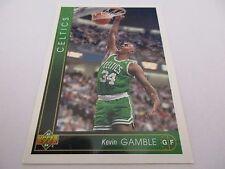 Carte NBA UPPER DECK 1993-94 #262 Kevin Gamble Boston Celtics