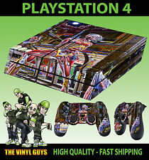 PS4 Skin Iron Maiden Somewhere In Time Eddie Sticker + Pad decals New Vinyl LAID