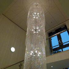 Stairwell, huge 5 Metre Lead Crystal Glass Chandelier chandlier Chandalier
