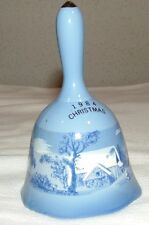 Currier & Ives 1984 Christmas Bell - The Farmers Home In Winter
