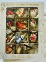 """INGE GLAS CHRISTMAS HEIRLOOMS """"Brides Tree"""" Ornaments Hand Crafted from Germany"""