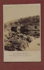 North Wales. Capel Curig, Rustic Bridge.  F Bedford. CDV photograph   qb.700