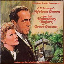 AFRICAN QUEEN ORIGINAL RADIO BROADCASTS-M1975LP HUMPHREY BOGART/GREER GARSON