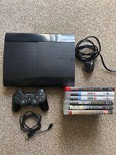 Ps3 Super Slim 250gb Console And Games