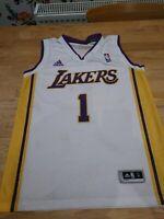 Nike LA Lakers NBA Russell #1 Basketball Jersey Vest Size Medium Free Postage