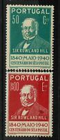 Portugal SC# 599 and 601, Mint Hinged, Hinge Remnants, see notes - S6349
