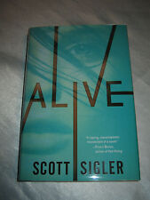 The Generations Trilogy Alive Book 1 by Scott Sigler SIGNED 2015 1st/1st HCD