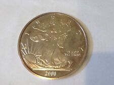 2000 United States Liberty Silver Eagle 1/2 Troy Pound Fine Silver Proof Coin