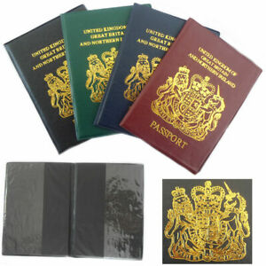 Passport Holder Cover Wallet Case Protection Document Slim Protector Safe UK