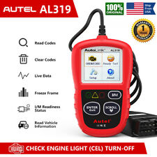 Autel AL319 OBDII OBD2 EOBD CAN Engine Code Reader Tool Auto Diagnostic Scanner