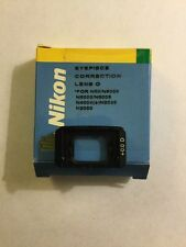 Nikon EyePiece Correction Lens 0 Diopter for N6,5,4,2,FG & EM NEW IN BOX!