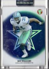 2002 Topps Pristine UNCIRCULATED REFRACTOR Cowboys Roy Williams RC #D 461/999