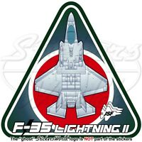 F-35 LIGHTNING II Japan Air Self-Defense Force JASDF Lockheed F-35A JSF Sticker