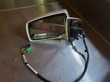 CADILLAC SRX 2004-2009 FRONT LEFT DRIVER SIDE MIRROR WHITE DIAMOND USED OEM