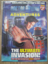 DOCTOR WHO ADVENTURES AMAZING COLLECTOR'S EDITION – AMAZING 3D COVER ~MATT SMITH