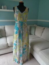 Neue zusammen Paisley Maxi Kleid-Größe 8