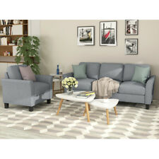Living Room Furniture chair + 3-seat Sofa Furniture set