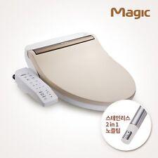 DongYang Toilet Bidet BID-5215N / Toilet Seat / Warm Water / Stainless Nozzle /