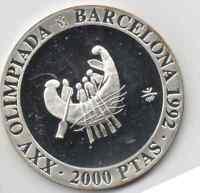 ESPAÑA  2000 Pesetas 1990 (XXV Olimpiada Barcelona 1992 ) sin circular Ref.M916