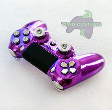 Custom Modded Playstation 4 Dualshock Wireless PS4 Controller - Purple Bullet