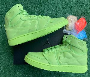 Billie Eilish x Air Jordan 1 KO Ghost Green Size 6.5W