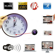 1080P FULL HD WALL CLOCK SPY Home Security CAMERA WIFI IP MOTION DETECT RECORDER