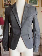 New sz 6 Maison Martin Margiela H&M deconstructed jacket blazer dress