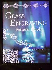 Glass Engraving Pattern Book by John Everett