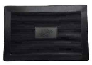 Austin heel mat rubber pad for drivers car carpet mat