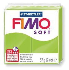 STAEDTLER MODELLIERMASSE FIMO SOFT 57g APFELGRÜN 100g/3,49€ NEU