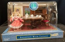 """Collector'S Lane 'Breakfast with Tiffany"""" Doll,Table,Chairs,Cabinne t - Nib"""