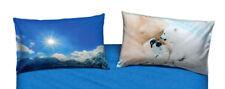 Bears in the Snow Federa Guanciale 50x80 cm Azzurro Orso polare Imagine Bassetti