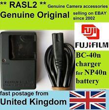 Genuine Fujifilm CARICABATTERIE, bc-40n np-40 FinePix f460 f470 f480 z1 z2 z3 z5 FD f610