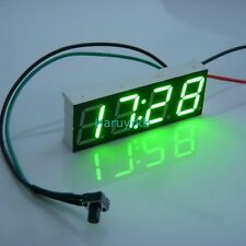 "0.40"" Digital LED Clock Watch Time for 12V 24V  Car Motorcycle bicycle E-bike G"