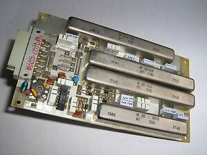 Filterplatte 2,  EKD 100, 300, RFT/ Funkwerk-Köpenick