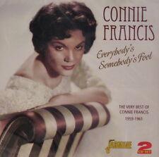 CONNIE FRANCIS 'Everybody's Somebody's Fool' - 2CD Set on Jasmine