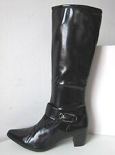 Tamaris Stiefel Lackstiefel Weite XS - S  schwarz Gr. 38 Boots patent black Lack