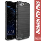 Cover Carbone Design Huawei P10 Plus Silicone Antichoc Épaisse
